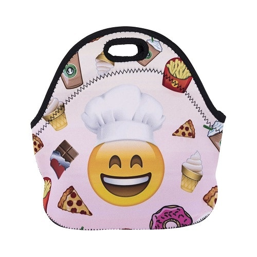 Emoji Lunch Tote Bag. School essentials. Back to school gifts for kids from mom.