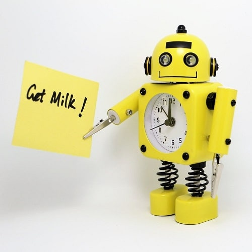 Robot Alarm Clock. Back to school gifts for kids.