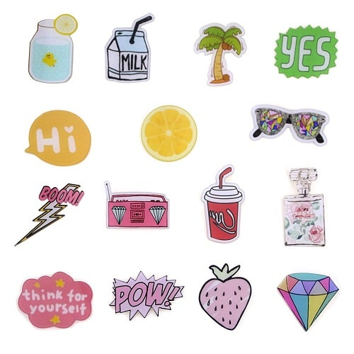 Acrylic Brooches Set