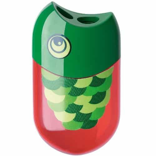 Faber Castell Fish Pencil Sharpener. Cute school supplies. Back to school gifts for kids.