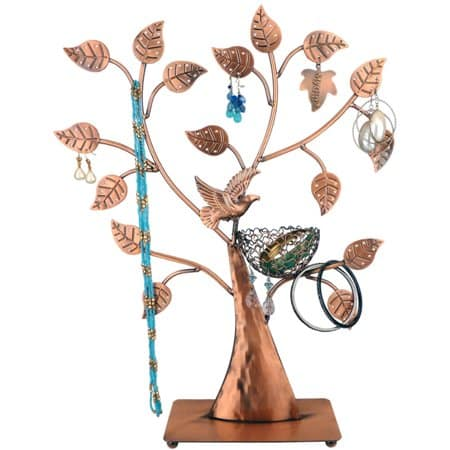 Bronze Jewelry Tree