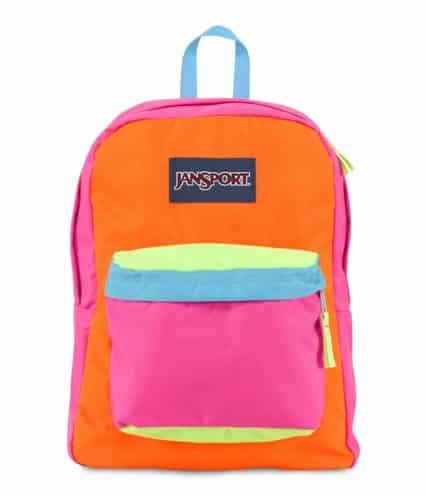 JanSport SuperBreak Bag. Back to school supplies. Back to school gifts for kids.