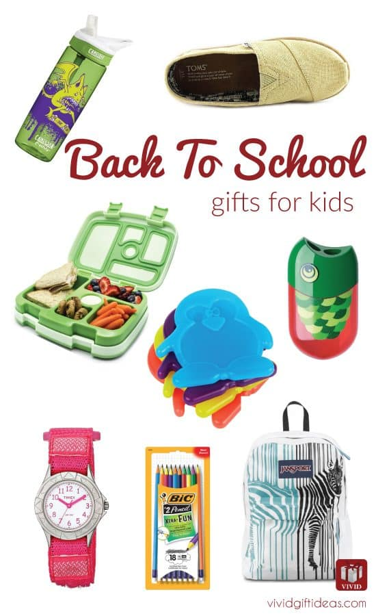 Back to school gifts for kids. School supplies. School essentials.