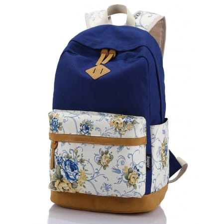 Leaper Canvas Laptop Backpack