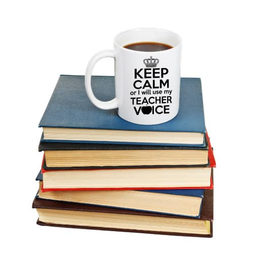 Keep Calm Teacher Mug