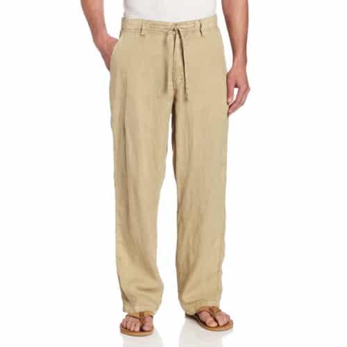 Margaritaville Men's Cabana Linen Pant