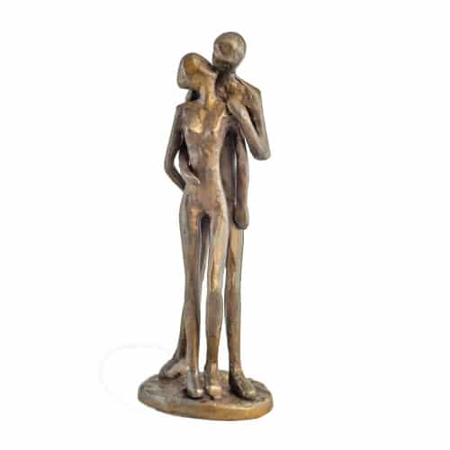 DanyaB Couple Kissing Bronze Sculpture