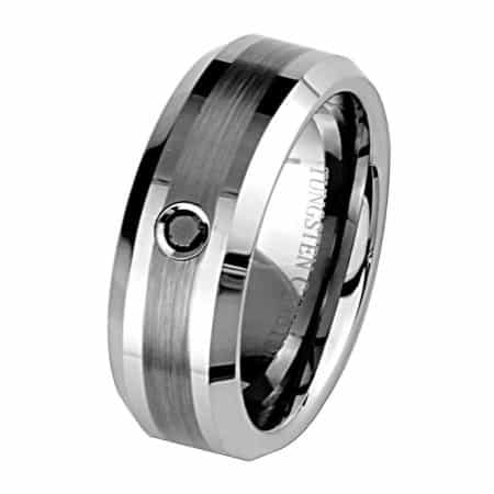 Black Diamond Men's Ring