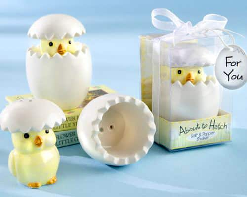 About to Hatch Salt and Pepper Shakers