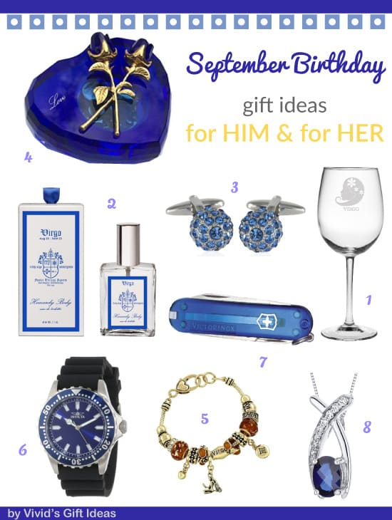 Gifts for September Birthday