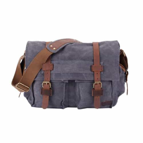 Berchirly Vintage Military Messenger Bag