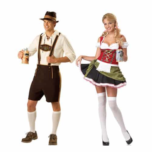 Bavarian Bar Couple