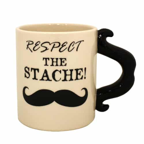 Respect The Stache Mug