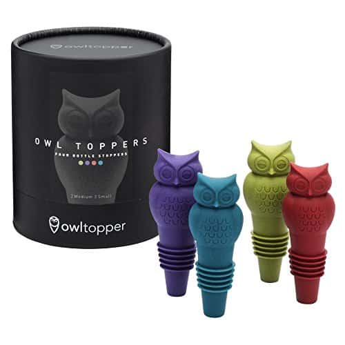 Owltoppers Bottle Stoppers