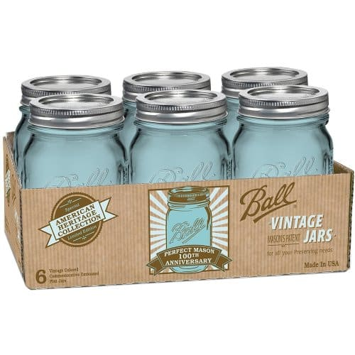 Ball American Heritage Collection Pint Jars