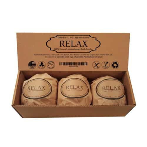 Relax Bath Bomb Gift Set