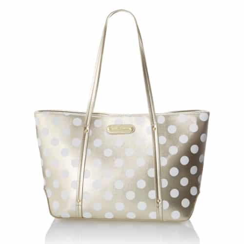 Betsey Johnson Hocus Polkas Small Tote Bag - Wood Anniversary Gift Ideas for Wife