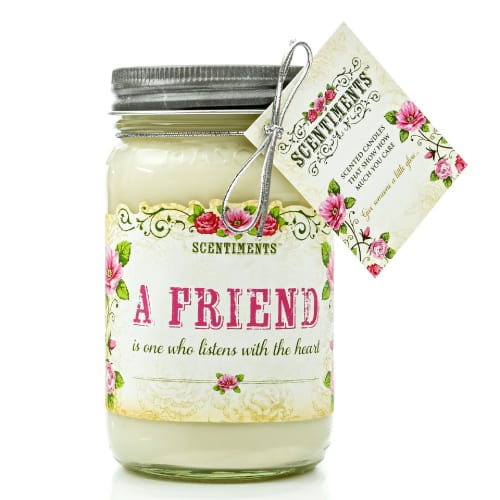 Friend Scented Gift Candle