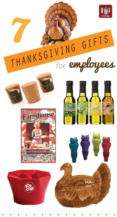 7 Best Thanksgiving Gifts For Employees Vivids