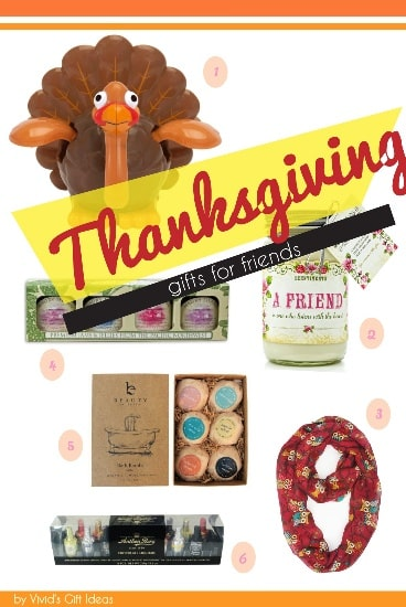 Thanksgiving Friend Ideas for Gifts
