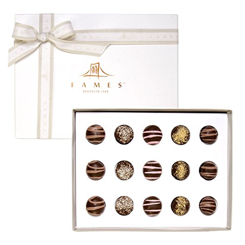 Fames Chocolates Dark Chocolate Assortment Gift Box