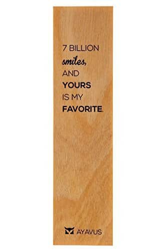 7 Billion Smiles and Yours Is My Favorite Bookmark