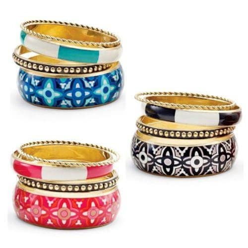 Bali Style Bangle Set