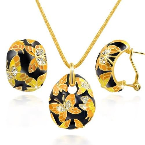 Majestic Butterfly Jewelry Set