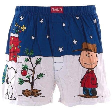 Peanuts Christmas Boxer Shorts