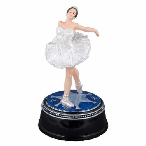 Swan Lake Ballet Figurine Music Box