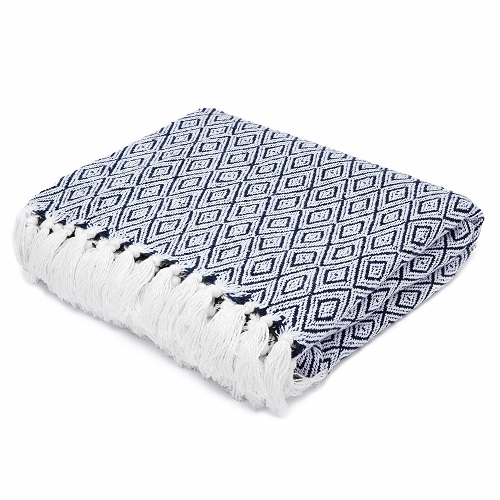 Americanflat Omala Cotton Blanket Throw