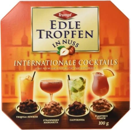 Trumpf Edle Tropfen in Nuss International Cocktails
