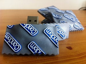 Condom USB Flash Drive