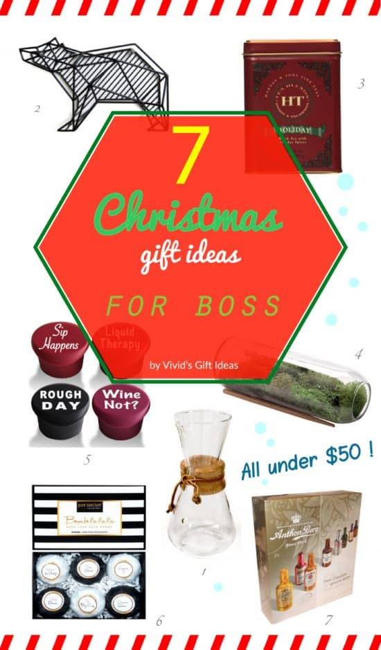 7 Appropriate Presents to Get for Boss - Vivid's Gift Ideas