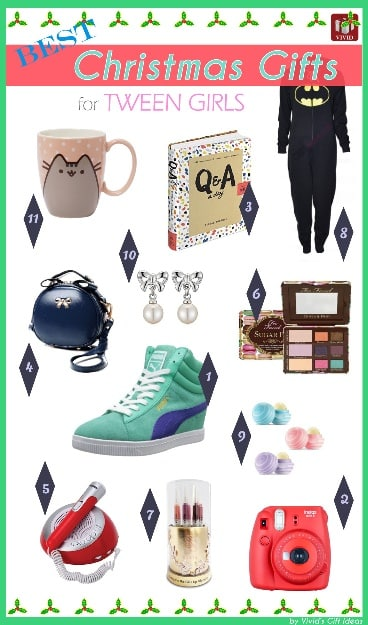 Tween Girl Christmas Gifts
