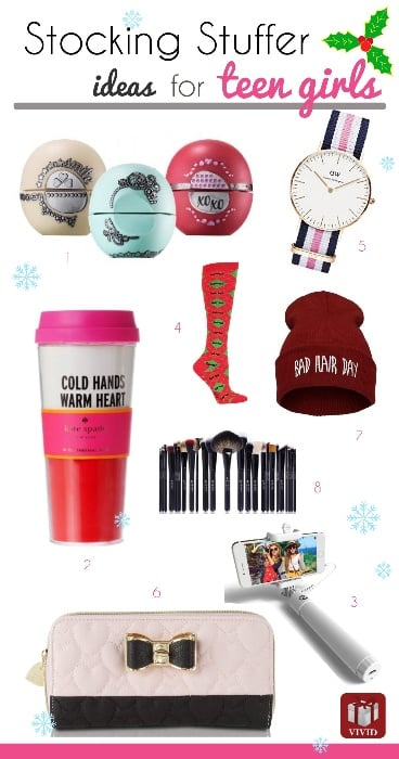 Top stocking stuffer ideas for teen girls vivid s