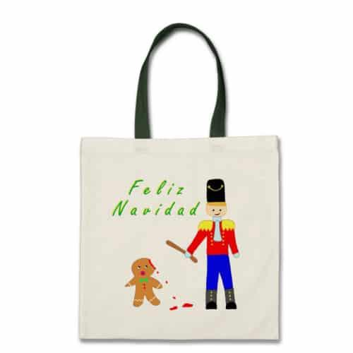 Funny Gingerdead Man Bag