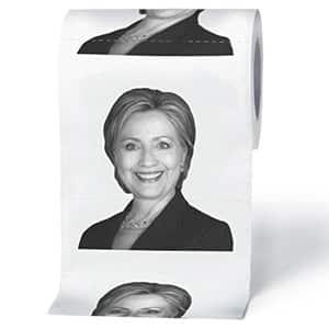 Hillary Clinton Toilet Roll