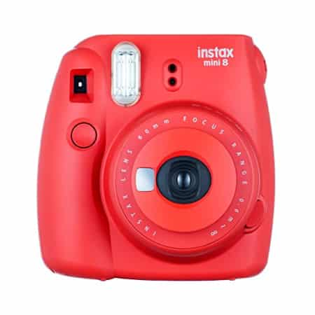 Fuji Instax Mini 8 Red Camera