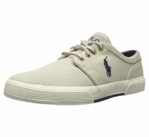 Polo Ralph Lauren Men's Faxon Calvary Twill Fashion Sneaker