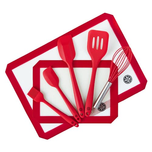 Baking Mat and Baking Utensils Set