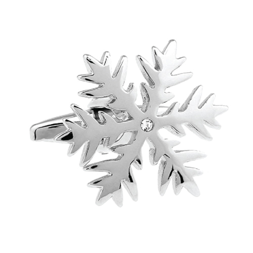 Winter Snowflake Cufflinks