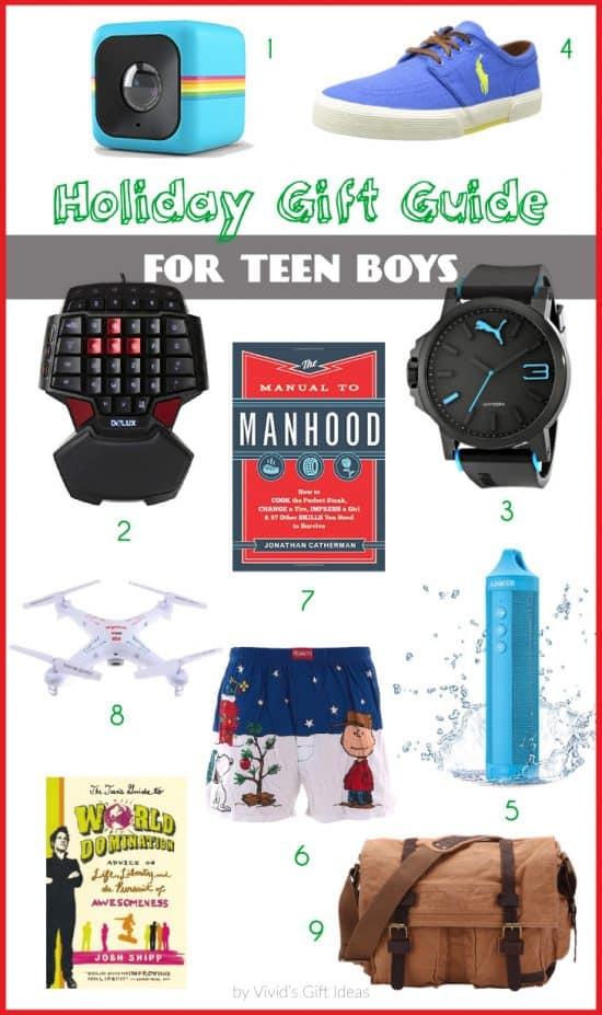 9 Christmas Gift Ideas for Teen Guys | VIVID'S