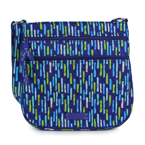 Vera Bradley Triple Zip Hipster Cross Body Bag