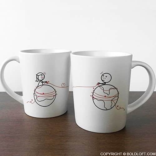 BOLDLOFT® His & Hers Coffee Mugs
