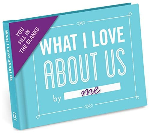 nock Knock What I Love About Us Journal