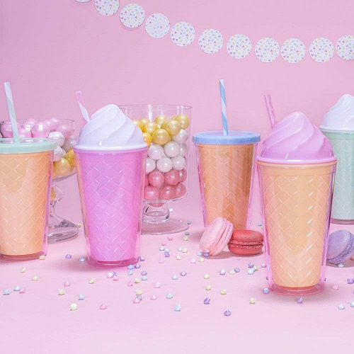 Ice Cream Double Wall Tumbler