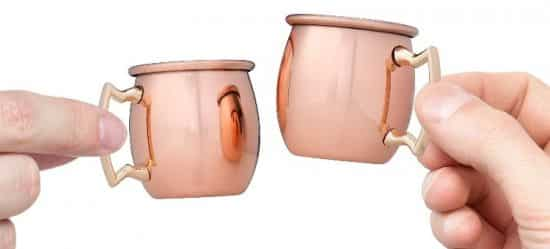 Moscow Mule Copper Shot Glass Set