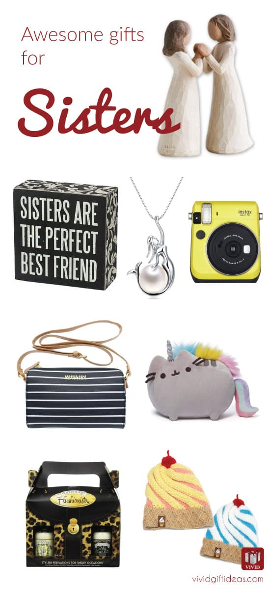 Christmas gifts for sisters