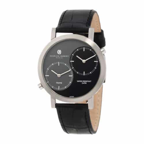 Charles-Hubert, Paris Mens Dual Time Watch